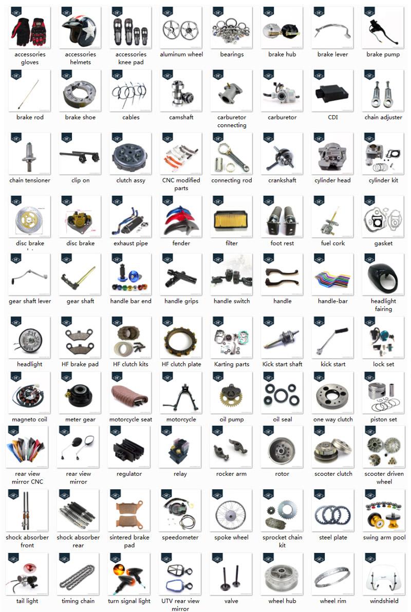 Fabriek groothandel lc135 motorfiets onderdelen carburateur lc135