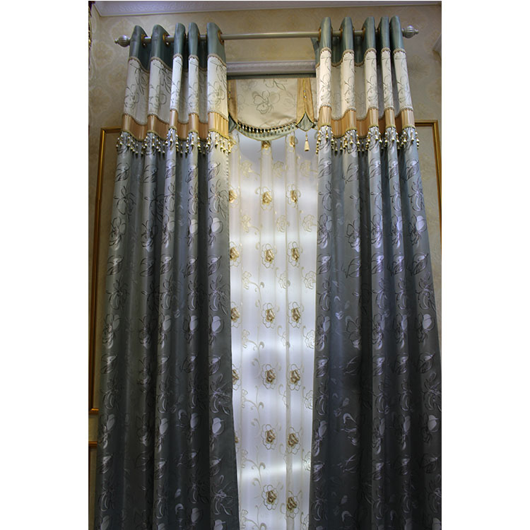 Charming Most Beautiful Luxurious Oriental Curtains With Valance