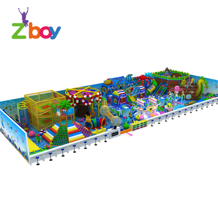 Kids active play educational toy equipment indoor playground equipment for sale