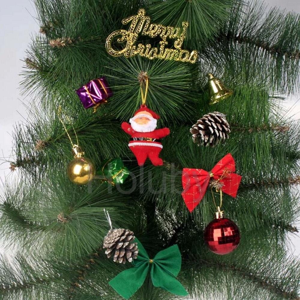 Christmas tree hanging balls ornament christmas tree for Christmas decoration packs