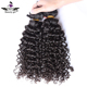 Cheap brazilian hair weave bundles 42 inch kinky curly sew in human hair extensions