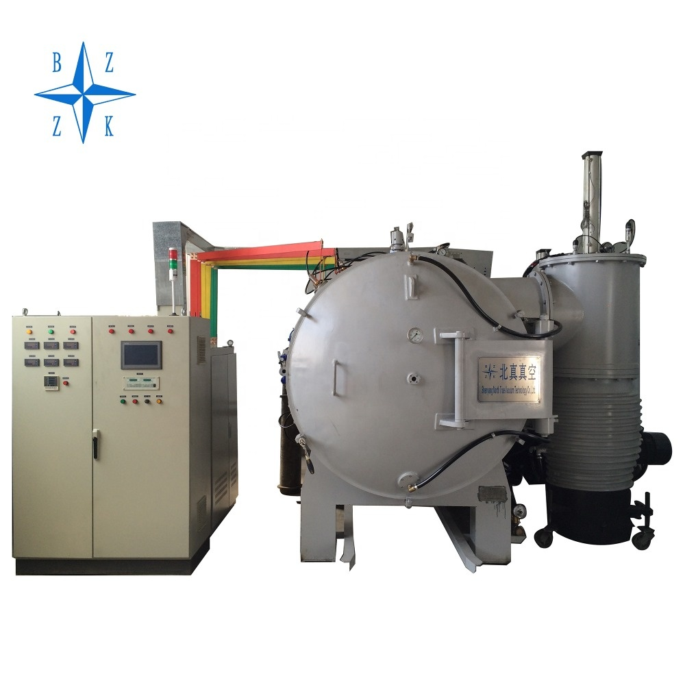 horizontal air filter graphite heating vaucum furnace