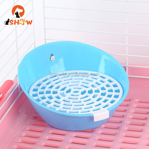 Small Animals Pet Potty Training Toilet Litter for Rabbits Chinchillas Hamsters easy clean