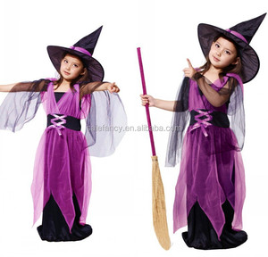 children fancy dress costumes witch dance Child Costume Dress QBC-2124