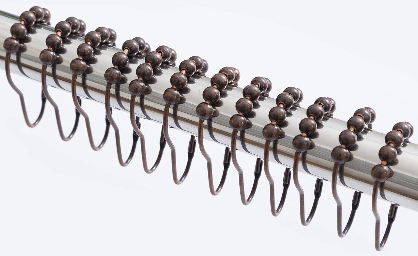 Buy Interdesign Rollerz Shower Curtain Hooks Bronze Set Of