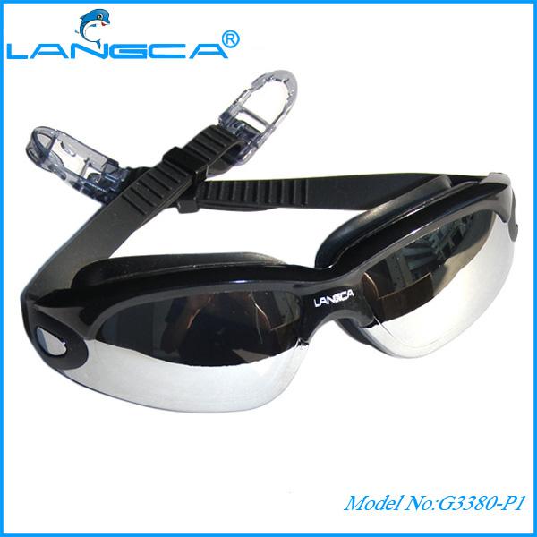 Professionnel myope lunettes de natation avec anti- brouillard. et la  protection uv 0586f40ab4ea