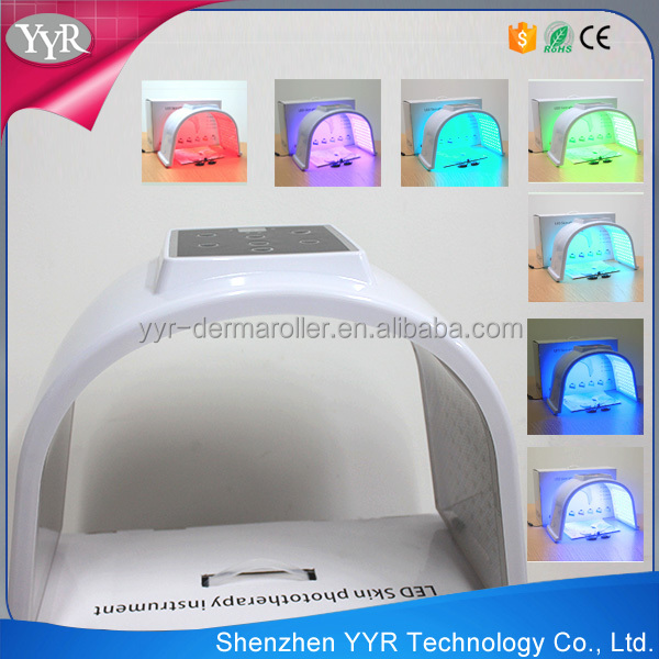 YYR HOTSALE Skin Rejuvenation led light therapy treatment PDT system 7 color pdt machine