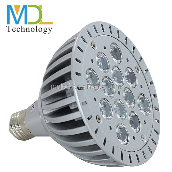 Hot selling outdoor led par light 5w 7w 9w waterproof par30 led flat par light professional led stage light
