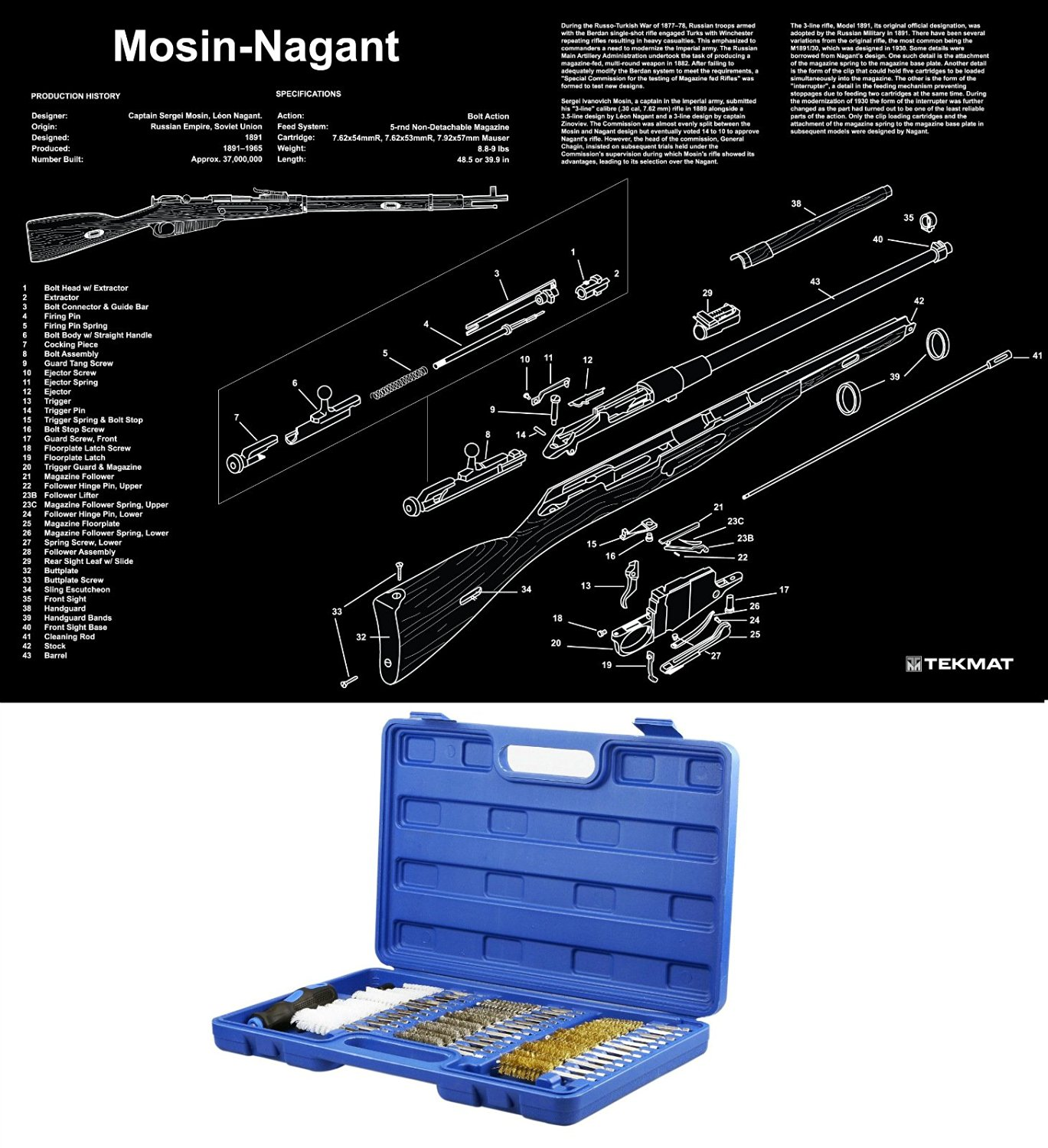 Cheap Tube Schematics Find Deals On Line At. Get Quotations Ultimate Arms Gear Mosin Nagant Poster Gun Schematics Wall Decoration 38pc Cleaning Kit Tube. Wiring. Zenith Tube Radio Schematics 39a At Scoala.co
