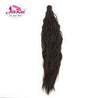 Change your look synthetic hair wrap around ponytail Hair extension