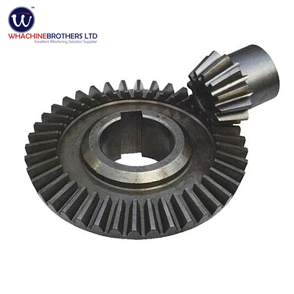 High Quality Spiral Bevel Gear And Pinion Made By Whachinebrothers Ltd -  Buy Bevel Gear,Spiral Bevel Gear,Bevel Pinion Gear Product on Alibaba com