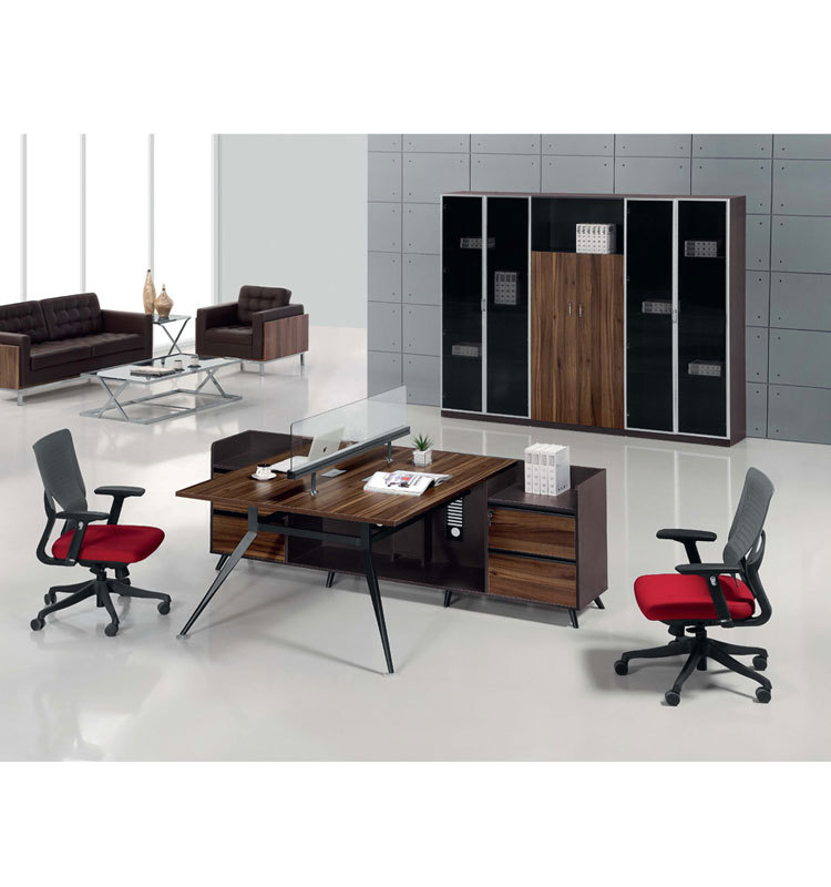 High Quality Office Desk: High Quality Computer Desk Modern Office Cubicle 2 Person