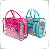 Transparent Clear PVC beach bag tote bag with Eco Green cheap price
