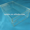 Transparent Acrylic Shoe Box Plexiglass Shoe Display Case For Sale