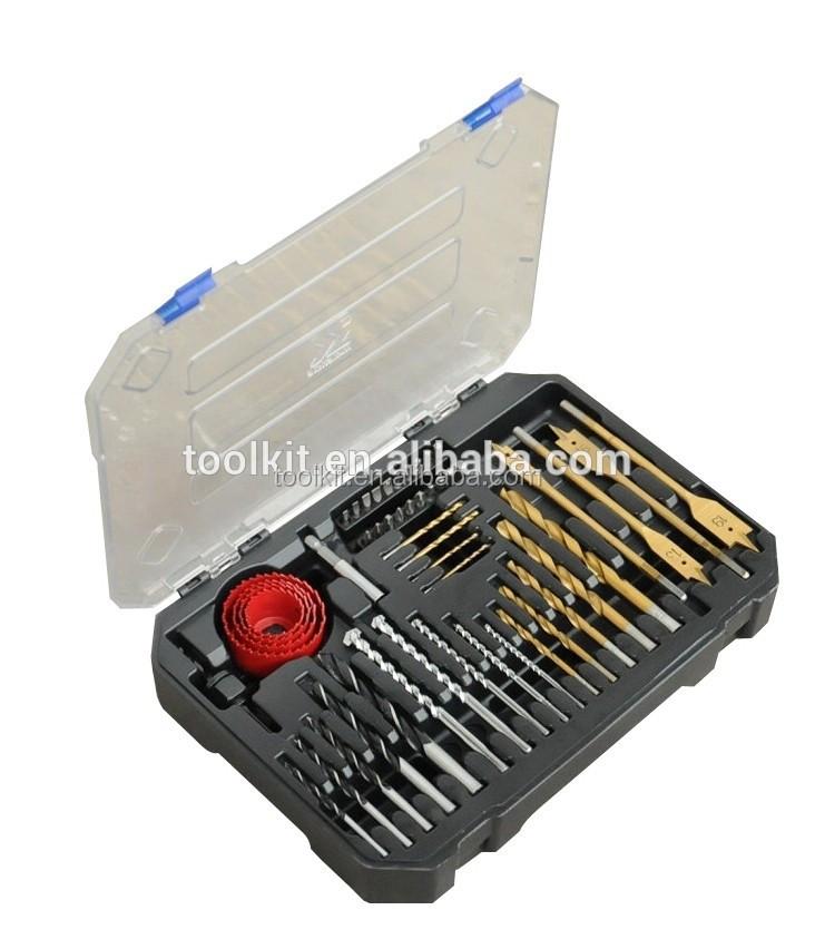 20Pcs Mini Micro Twist Drill Bit HSS Set Steel 0.3mm-1.6mm Craft Case Silver Q