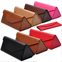 Wholesale Branded sunglasses case,Custom logo folding case for sunglasses from china