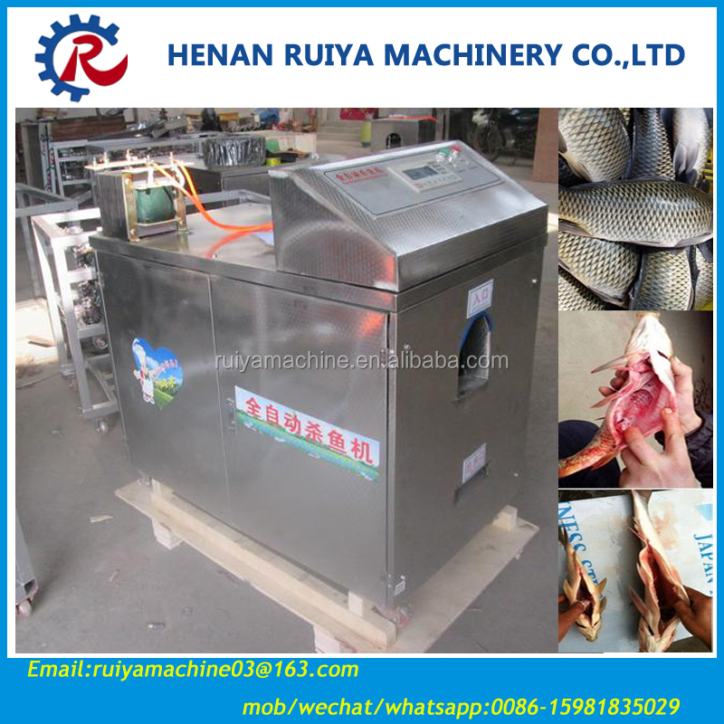 Lowest price fish descaler/ automatic fish fillet machine/ fish killing gutting cleaning machine 0086-15981835029