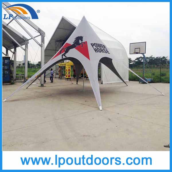 star shape tent spider tent for event