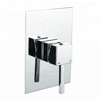 Hot Selling European Style Bathroom Brass Square Concealed Shower Set