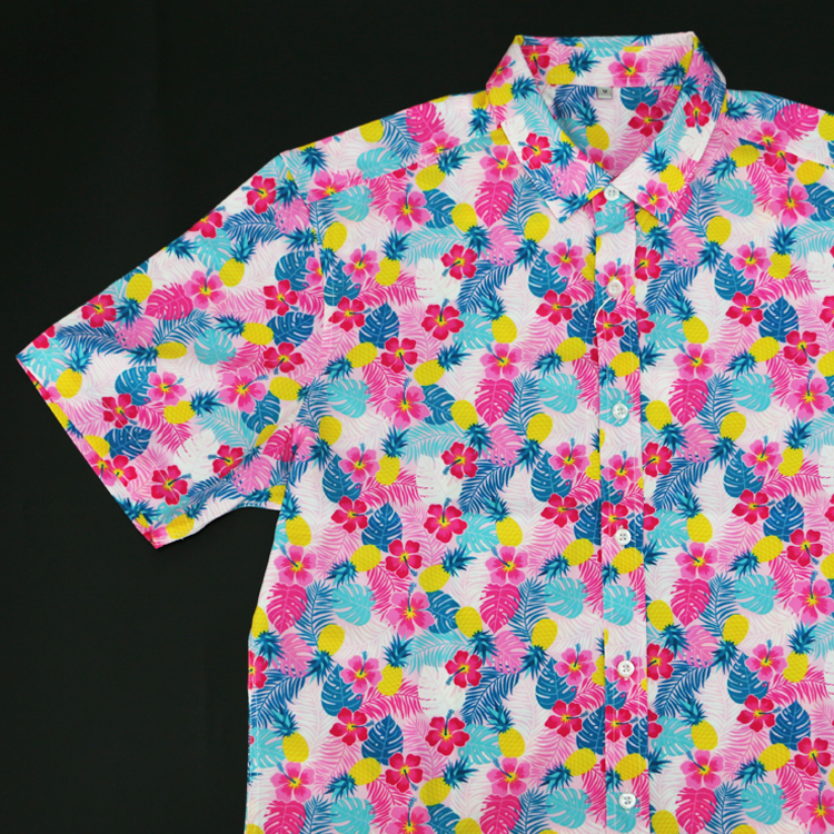 China Factory OEM High Quality Aloha Bangkok Hawaiian Shirts Wholesale