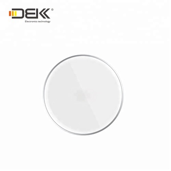 new arrival 5W universal round flatwise adapter phone Qi wireless charger