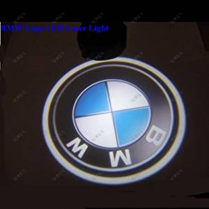 Newsun Free Shipping 5w Car LED Door Courtesy Light for BMW LED Logo Light LED Car Decoration Ghost Shadow Lamp Welcoming Light