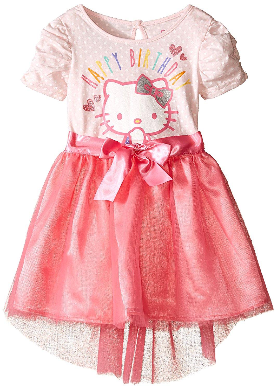 5c84eca0952bb Get Quotations · Hello Kitty Toddler Girls  Tutu Dress