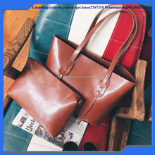 PU Leather Fashionable Design Trendy Lady Leisure Tote Bag women fashion Big Size Shoulder Bag