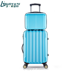 Luggage Trolley Suitcases Travel bags blue or Students and travel