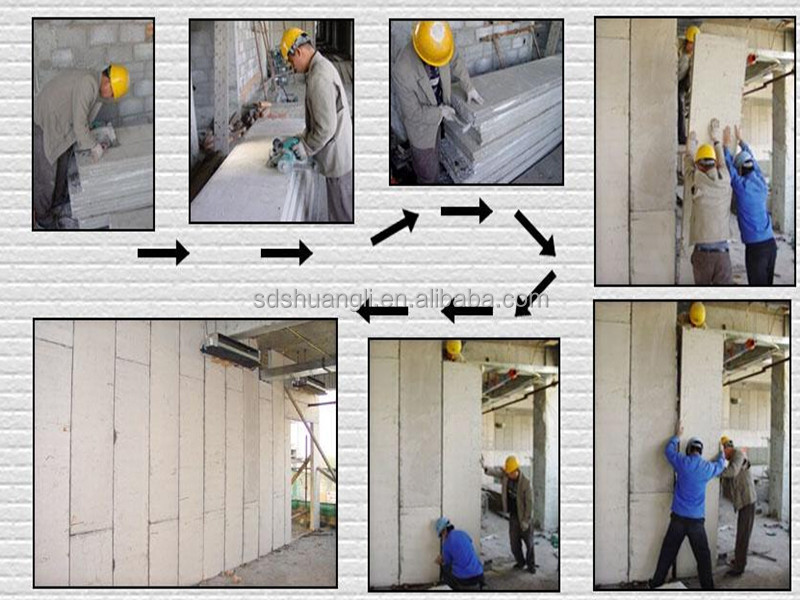 concrete wall machine