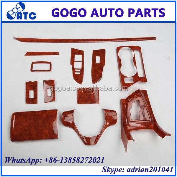 FOR TOYOTA COROLLA 2014-2016 WOODEN DASHBOARD AND INTERIOR PANEL