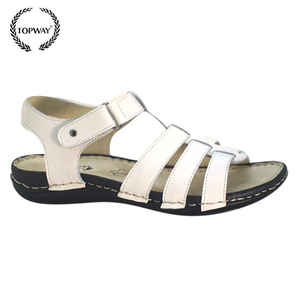 China manufacture cheap durable leather indian fashion sandals