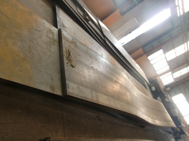 Q235B Q345B hot rolled steel plates used for construction