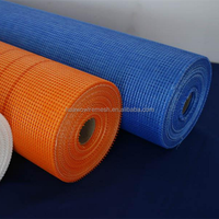2018 popular colored fiberglass mesh cloth