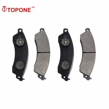 GDB1226 auto parts brake pad set manufacturers For FORD For CHEVROLET D412