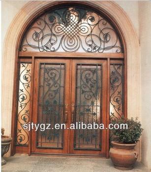 современная безопасность железная дверь для гриля дизайн Buy кованые вставкибу металлическая дверь безопасностидверь с небольшим окном Product On