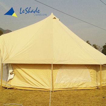 Good sell custom camping family bell tent manufacturer china