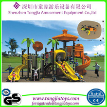2017 new outdoor preschool playground popular magic children plastic outdoor sliders equipment