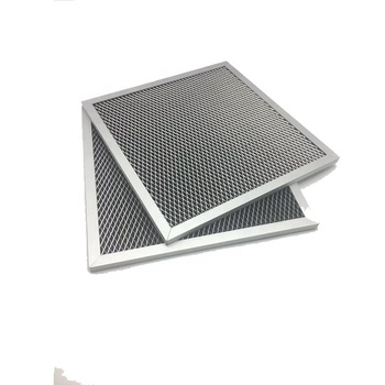 Creative design durable metal washable mesh primary air filter