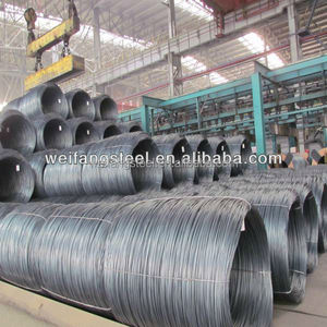 low carbon steel wire rod hot rolled for fasteners, bolts, rivets, screws