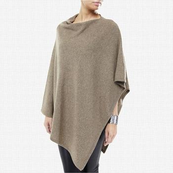 4e4db3444c9783 Handgefertigte Großhandel Knit Poncho Frauen Pure Cashmere Poncho ...