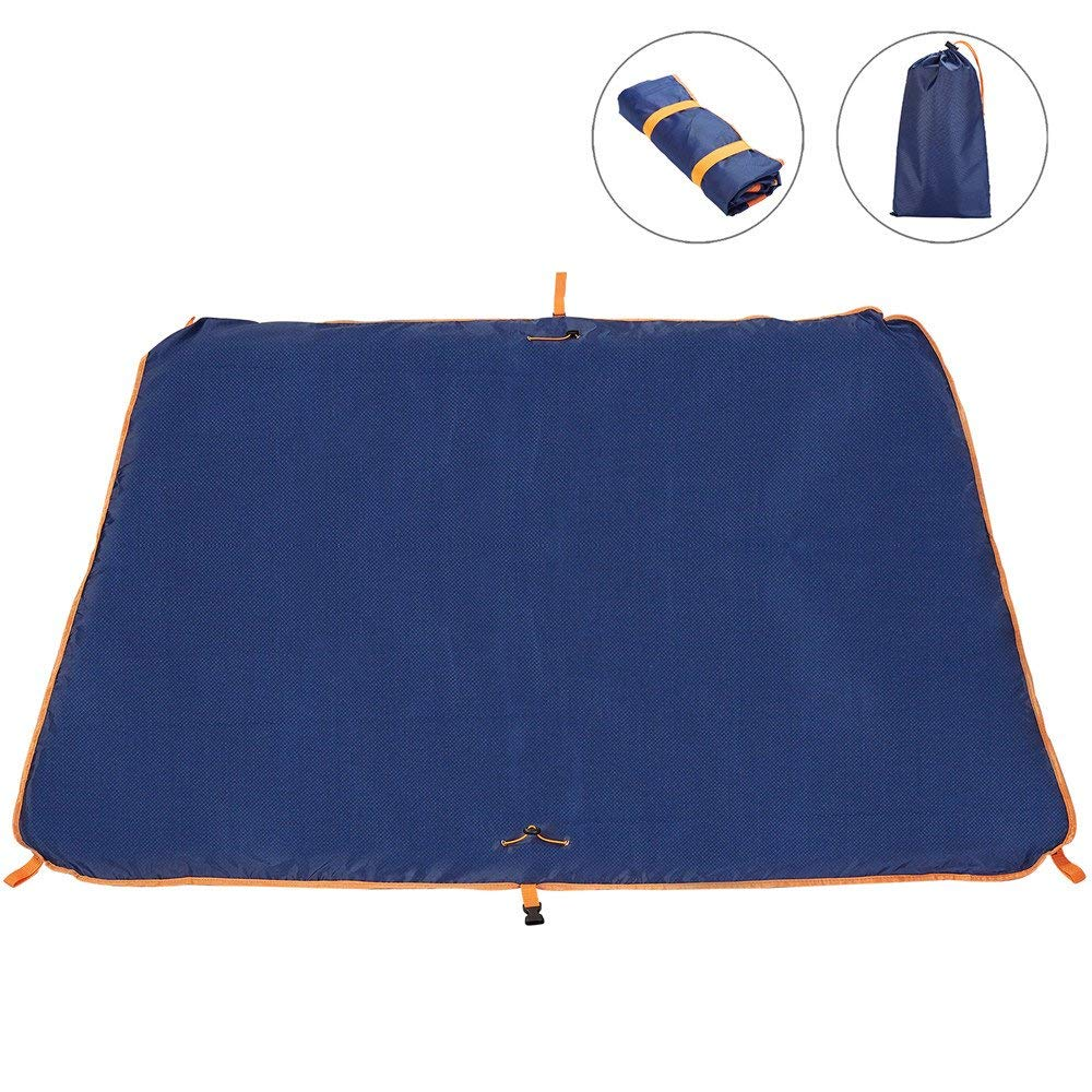 """60/""""x55 OutSavage Multi-Use Waterproof Pocket Blanket for Camping Large Size"""
