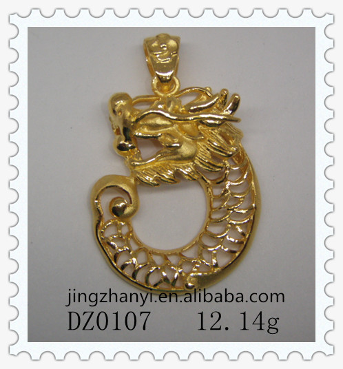 gold ehecegaijebc necklace item ji meng pure pendant ball chao monkey hard hong