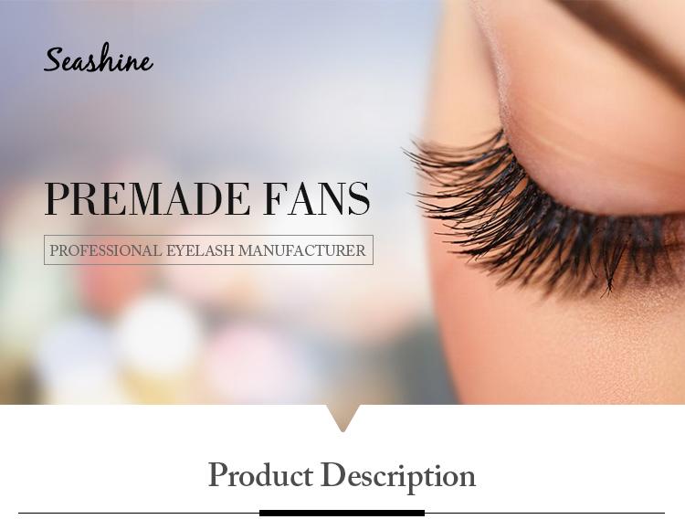 77372829871 Seashine 5d Pre Made Fans Eyelashes 4D 3D 6D Volume Eyelash Extension Trays  Loose Lashes 0.07