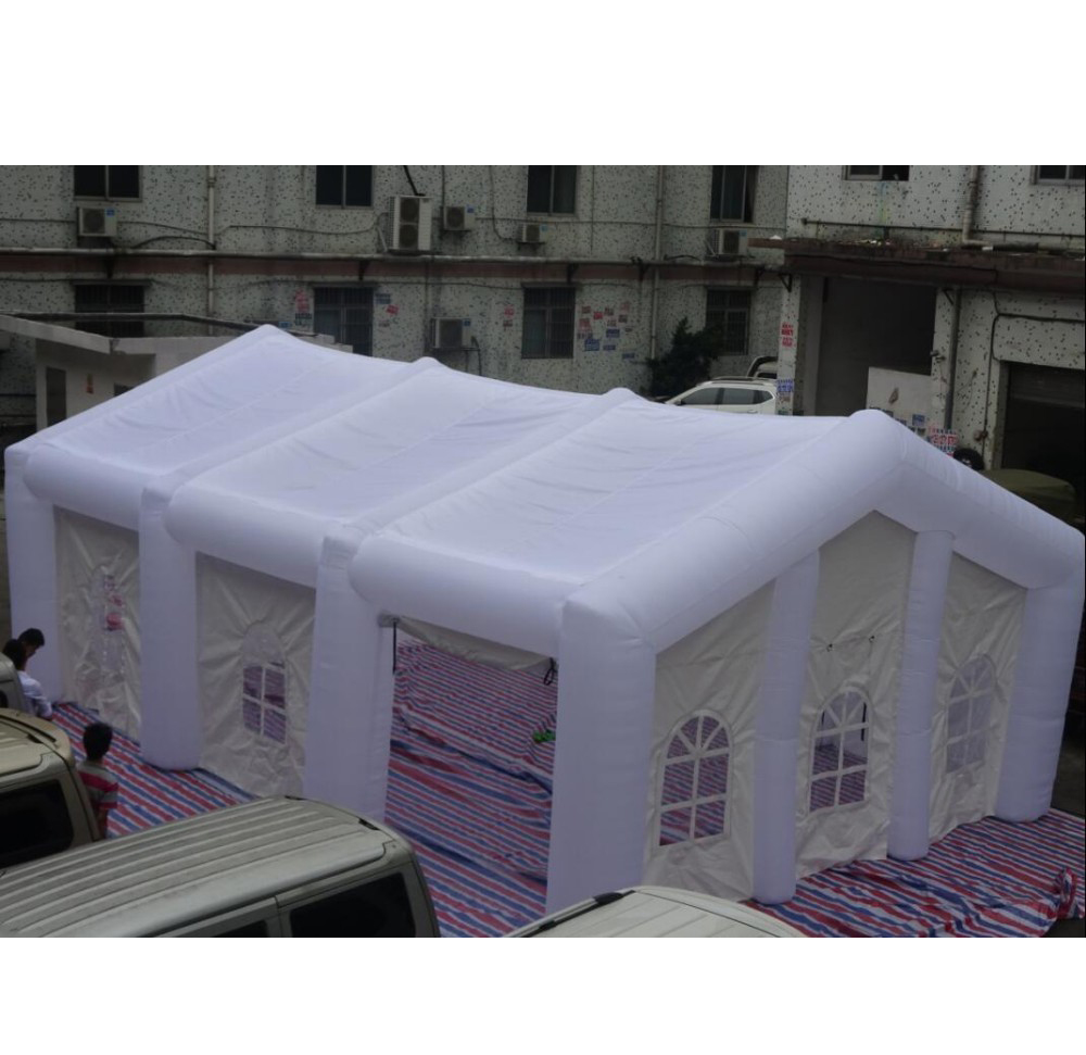 wedding party inflatable tent / white inflatable house tent with cover