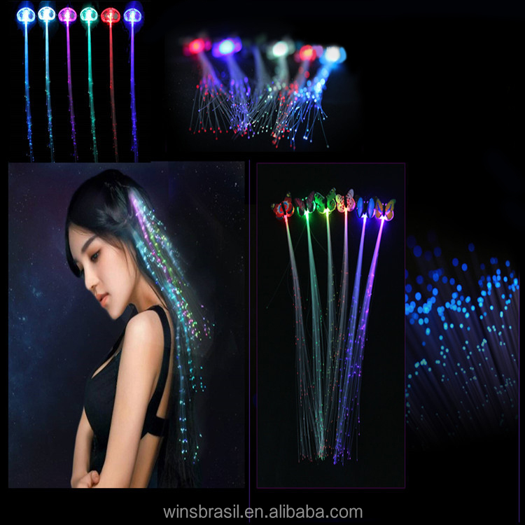 2016 wholesale cheap party wigs halloween led hair