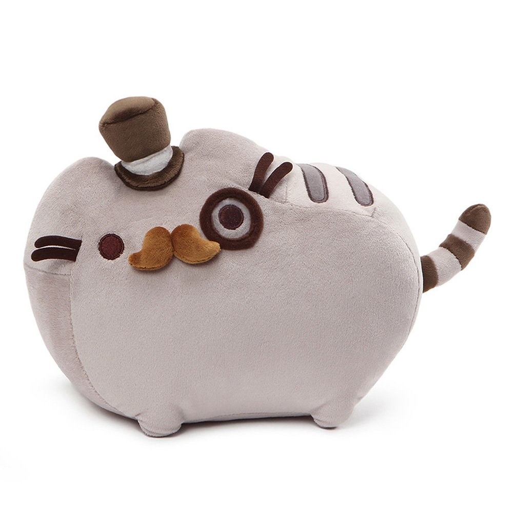 GUND Pusheen Fancy Stuffed Animal Cat Plush, 12.5""