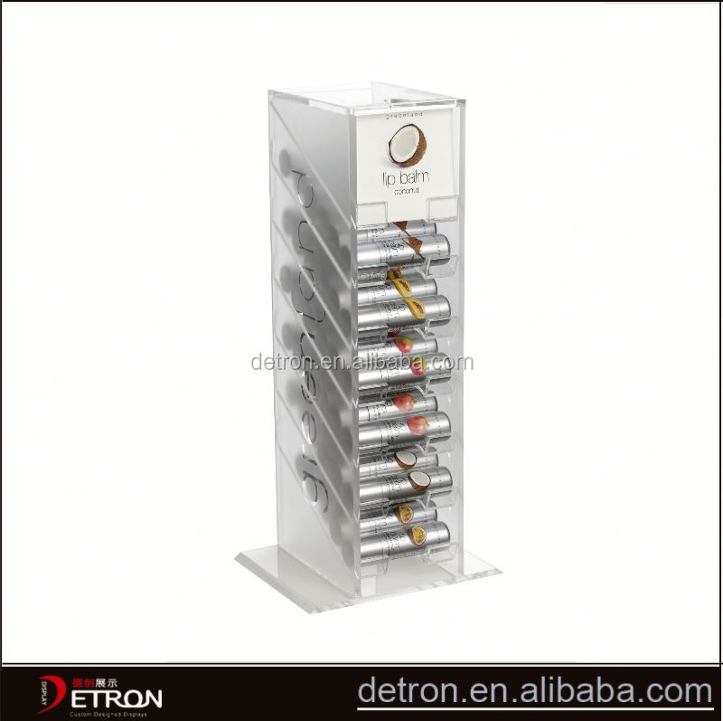 Creative durable acrylic lip balm display stand