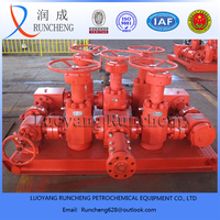 well control gas field api 16c kill manifold / choke manifold for oil or gas drilling