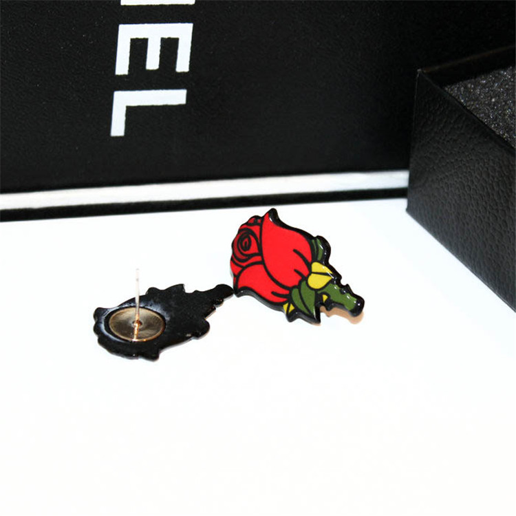 MYLOVE E1494 girls romantic rose stud earring